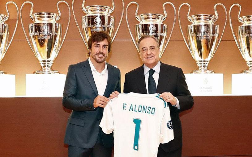 """""""Unii s-au născut pentru a juca la Real!"""" Fernando Alonso a devenit membru de onoare al clubului Real Madrid"""