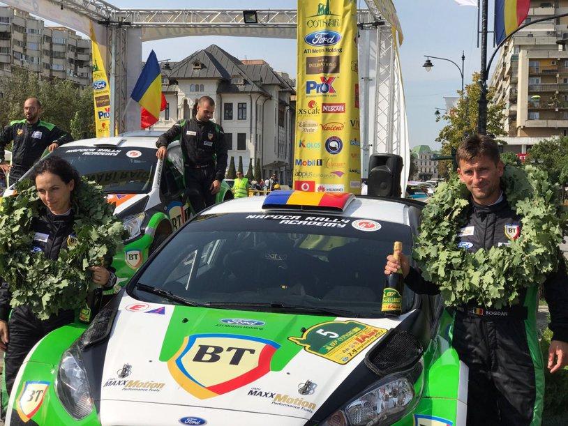 FOTO | Bogdan Marişca, noul campion naţional de raliuri. Simone Tempestini a câştigat Cotnari Rally Iaşi 2017, dar Marişca şi-a asigurat coroana în acest sezon