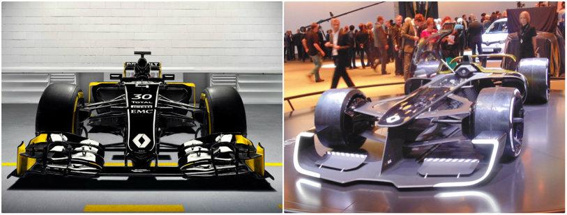 Urmaşii lui Hamilton vor conduce adevărate nave spaţiale! FOTO   Cum vor arăta maşinile de Formula 1 în viitor