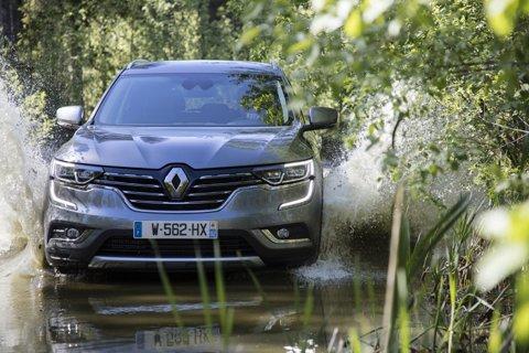 Noul Renault Koleos a primit 5 stele la testele de siguranţă EURO NCAP