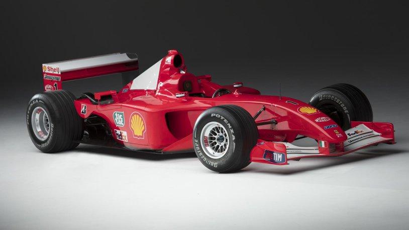 """Încă un monopost al lui Michael Schumacher a fost scos la vânzare: Ferrari vrea să obţină de aproape patru ori mai mulţi bani decât preţul scos în 2016 pe una dintre primele maşini ale lui """"Schumi"""""""