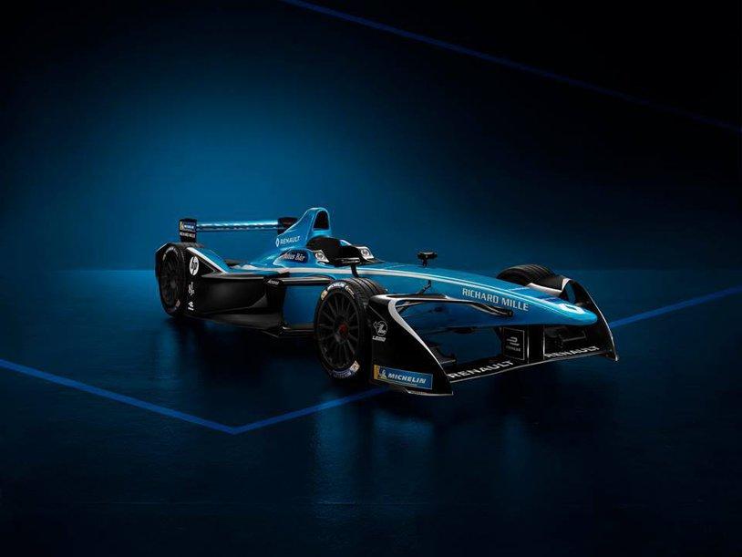 Renault şi-a prezentat monopostul cu care va ataca un nou titlu în Formula E