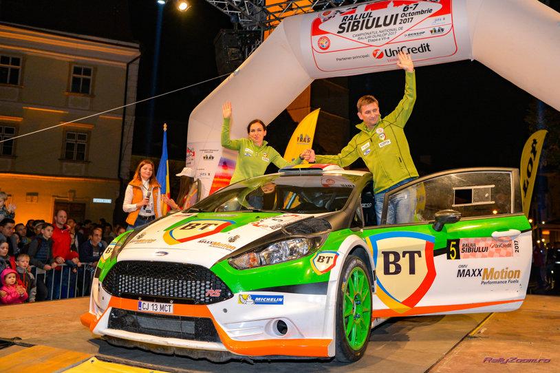 Bogdan Marişca, din nou campion naţional. Echipajul Marişca - Poenaru a câştigat titlul în Campionatul Naţional de Raliuri 2017