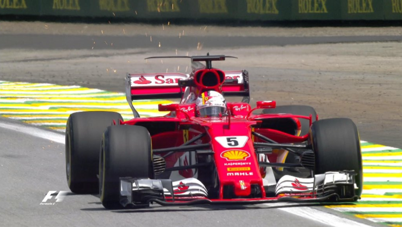 Vettel a dominat în Marele Premiu al Braziliei! Piloţii care au completat podiumul şi cursa fabuloasă făcută de Hamilton
