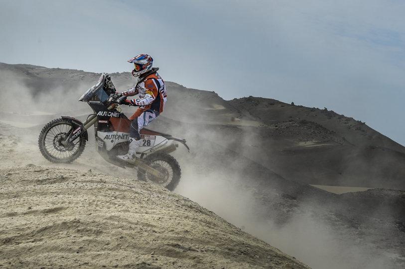 Dakar 2018: Primele 2 zile au fost de acomodare cu Atacama. Emanuel Gyenes, locul 35 în clasamentul general provizoriu