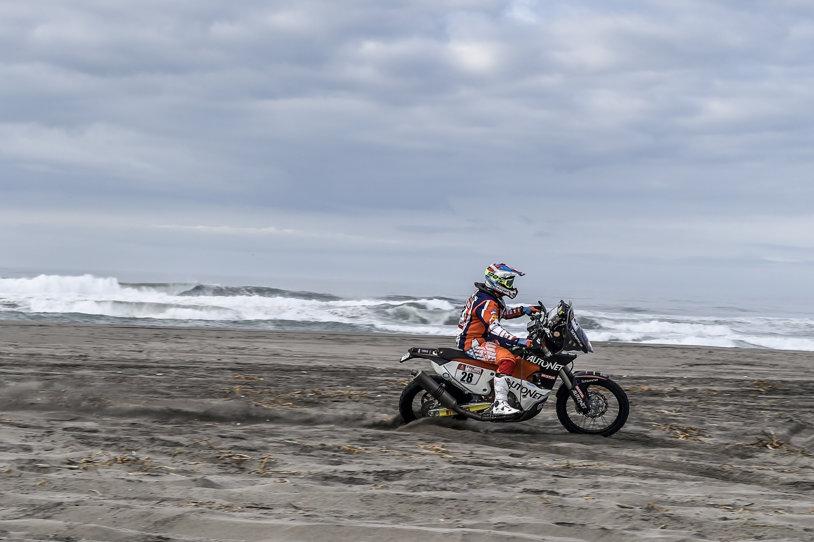 Dakar 2018: ultima etapă în Peru! Mani Gyenes a urcat pe 29 în clasamentul general