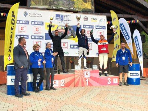 Andrei Dumitrescu se impune în etapa a doua din Campionatul Naţional de Viteză în Coastă