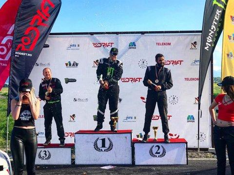 Călin Ciortan a câştigat a doua etapă din Campionatul Naţional de Drift. Cine este noul lider al clasamentului