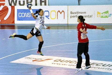 HCM Baia Mare a câştigat Supercupa României la handbal feminin