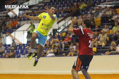 Minaur a învins Poli Timişoara cu 26-22 şi a ajuns în preajma podiumului. Ştiinţa Bacău, liderul Ligii Naţionale de handbal masculin