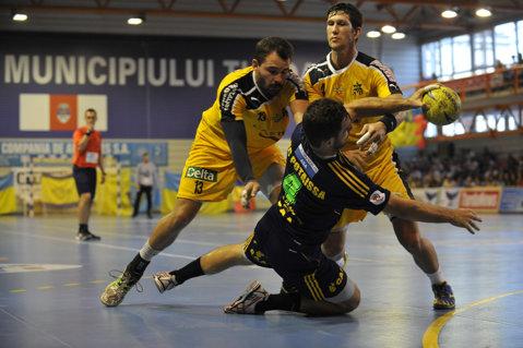 Potaissa Turda s-a calificat în turul doi al Cupei EHF cu o dublă victorie în faţa echipei Macccabi Tel Aviv   FOTO