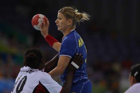 Fosta handbalistă Carmen Amariei a născut un băiat la o clinică din Cluj-Napoca