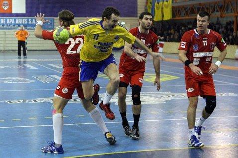Ştiinţa Bacău-OCI Lions, scor 34-29, în turul doi al Cupei EHF la handbal masculin