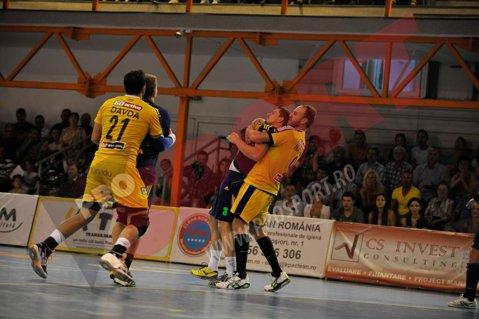 Potaissa Turda s-a calificat în turul trei al Cupei EHF la handbal masculin