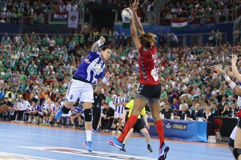 De la cinci în sus. Toate meciurile din Liga Campionilor la handbal feminin s-au încheiat la scor