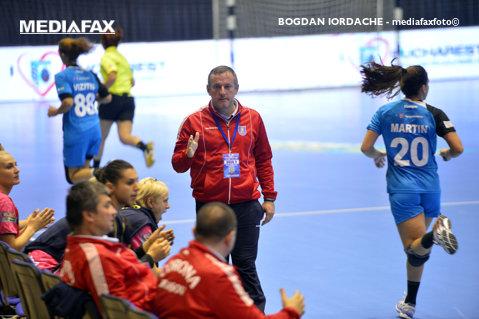 """Bogdan Burcea: """"Corona Braşov are 50 la sută şanse de calificare în sferturile Cupei EHF"""""""