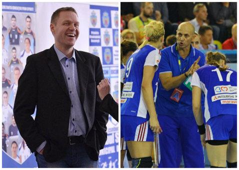 Jakob Vestergaard şi Costică Buceschi, tandemul favorit pentru a prelua echipa naţională de handbal feminin. Mai sunt vehiculate încă trei variante de selecţioneri