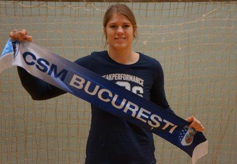 """Daneza Line Jorgensen, oficial la CSM Bucureşti. """"Este un pas înainte în cariera mea"""""""