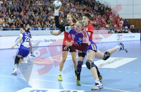 HCM Baia Mare, cu frâna trasă la Constanţa înaintea debutului în grupele principale ale Ligii Campionilor