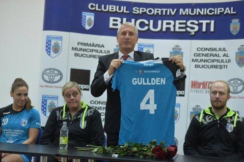 """Isabelle Gullden este oficial jucătoarea echipei CSM Bucureşti. Căliman: """"I-am păstrat tricoul cu numărul 4"""""""
