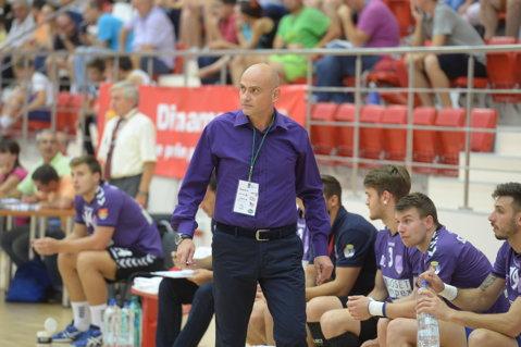 Dinamo şi-a schimbat antrenorul la handbal. Constantin Ştefan i-a luat locul lui Ion Mocanu pe banca tehnică
