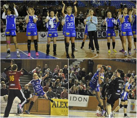 HCM Baia Mare, campioana sezonului regulat. Tabloul complet în play-off şi situaţia la retrogradare în Liga Naţională de handbal feminin