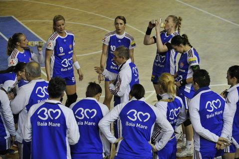 Baia Mare a scăpat de Gyor. Semifinală cu BNTU Minsk, finală probabilă cu Esbjerg (Danemarca) pentru calificarea în grupele Ligii Campionilor