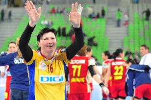 România - Rusia, scor 20-23, în competiţia de handbal feminin de la FOTE