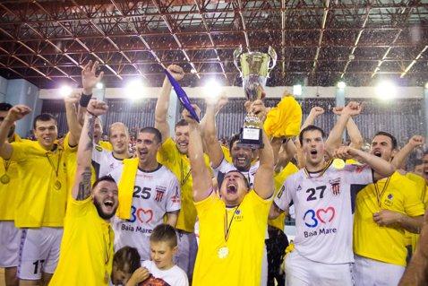 Minaur Baia Mare - Potaissa Turda, scor 25-29, în primul amical al campioanei României