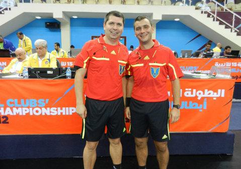 Arbitrii Bogdan Stark şi Romeo Ştefan vor oficia la CE de handbal masculin din 2016