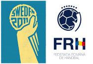 """Seamănă logo-ul Federaţiei Române de Handbal cu sigla Mondialului masculin din 2011? Lorand Balint: """"Elementele noastre centrale sunt H-ul tricolor şi coroana de stele"""""""