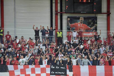 """ISU a închis şi """"Dinamo"""", o sală care a fost inaugurată în urmă cu 2 ani şi jumătate. Clubul din Ştefan cel Mare, obligat să mute un meci de cupă europeană"""