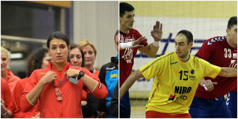 Cristina Neagu şi Valentin Ghionea, cei mai buni handbalişti români din 2015
