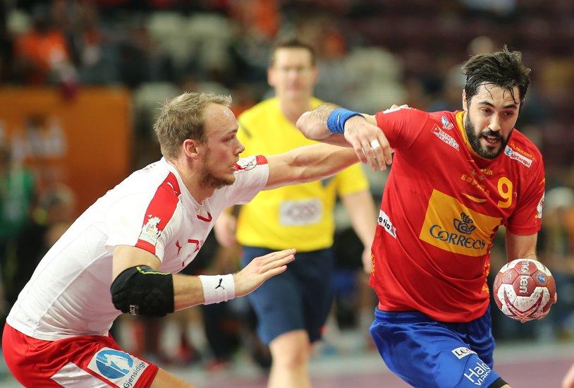 Raul Entrerrios a fost desemnat cel mai bun handbalist al Campionatului European din Polonia