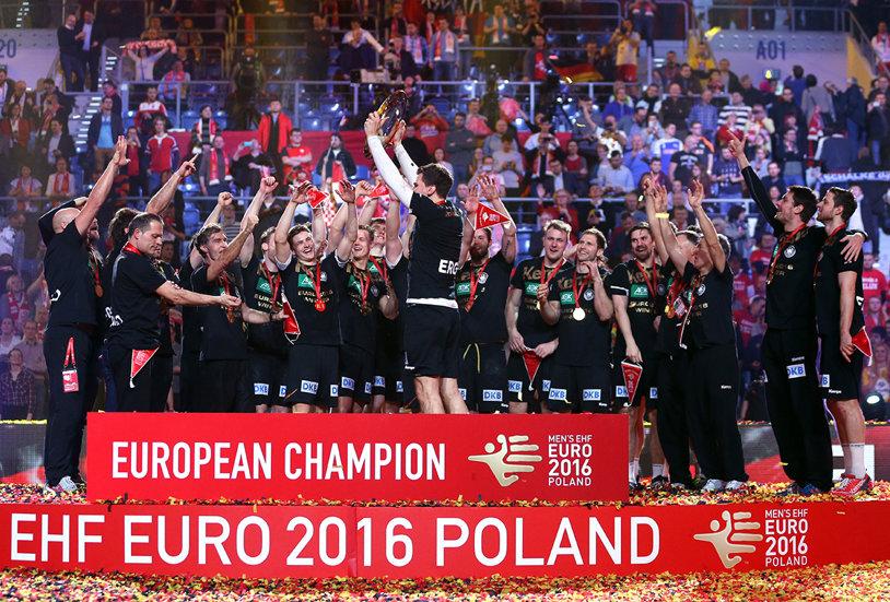 """Germania a câştigat medalia de aur, iar Norvegia, Suedia şi Macedonia sunt alte trei """"beneficiare"""" după ultimul Campionat European"""