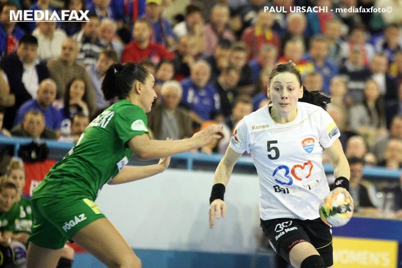 Veşti proaste înaintea meciului HCM Baia Mare - Thuringer. Melinda Geiger are meniscul distrus şi ratează inclusiv turneul preolimpic al naţionalei