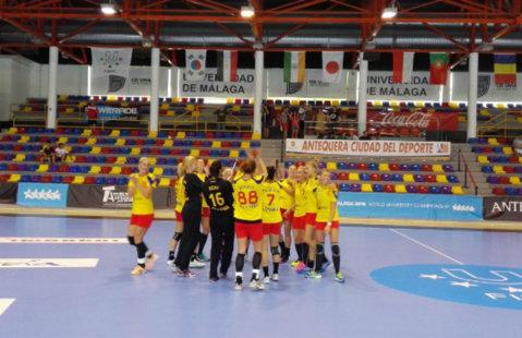 Naţionala feminină universitară de handbal s-a calificat în semifinalele Campionatului Mondial de la Malaga