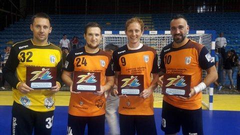 CSM Bucureşti a câştigat turneul de la Doboj, după o finală cu Tatran Presov. Dinamo, HC Odorhei, Steaua şi HC Dobrogea Sud Constanţa, teste în această vară cu echipe din Liga Campionilor
