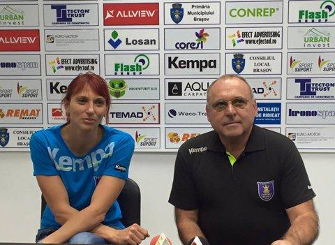Mihaela Tivadar a semnat cu Corona Braşov şi ar putea debuta duminică la noua echipă, într-o partidă cu HC Zalău