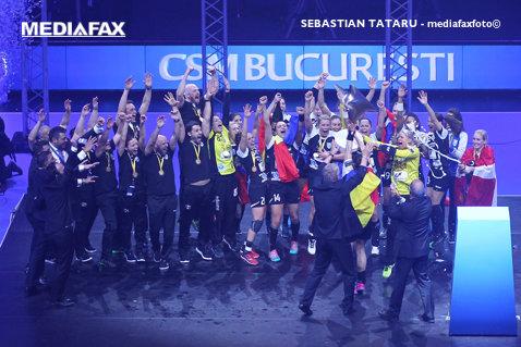 CSM Bucureşti îşi poate apăra trofeul tot la Budapesta! Decizia oficială luată de EHF cu privire la Final Four-ul Ligii Campionilor