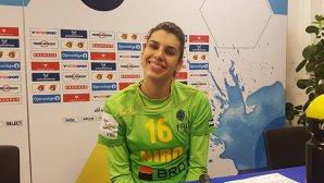 """Denisa Dedu: """"Nu ştiu dacă a fost meciul vieţii pentru mine, probabil că aşa a fost, dar important este că am câştigat"""". Jaume Fort a decis titularizarea portarului de 22 de ani"""