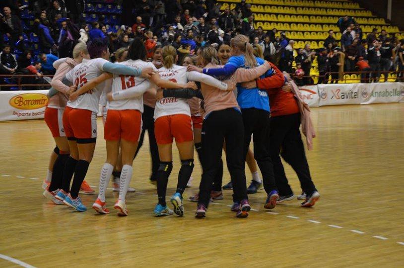 HCM Râmnicu Vâlcea a produs surpriza la primul meci cu Sbora şi Luminiţa Dinu pe bancă