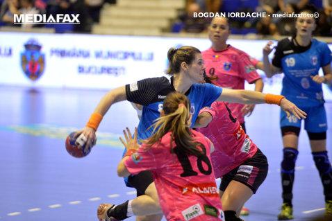 Corona Braşov - Măgura Cisnădie, scor 29-31, în etapa a 18-a din Liga Naţională feminină de handbal