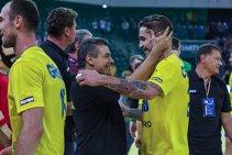 Xavi Pascual a calificat pe FC Barcelona în turneul Final 4 al Ligii Campionilor, iar acum este pregătit pentru o altă bătălie mare, România – Serbia. În ce formulă s-a reunit naţionala la Baia Mare