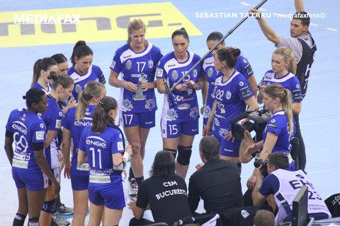 CSM Bucureşti şi alte 13 echipe, confirmate de EHF în grupele Ligii Campionilor la handbal feminin