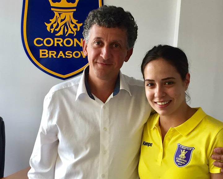 Corona Braşov a anunţat că a prelungit pe 5 ani contractul cu Sorina Tîrcă!