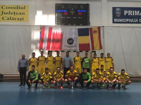 Spania a câştigat prima ediţie a Trofeului Carpaţi pentru Juniori (sub 19 ani). România s-a clasat pe locul 3, după ce a obţinut o victorie cu Austria