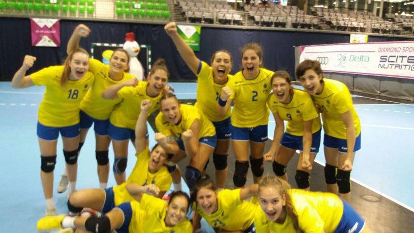 Naţionala de junioare a obţinut o victorie mare la debutul Campionatului European, 26-23 cu echipa Franţei