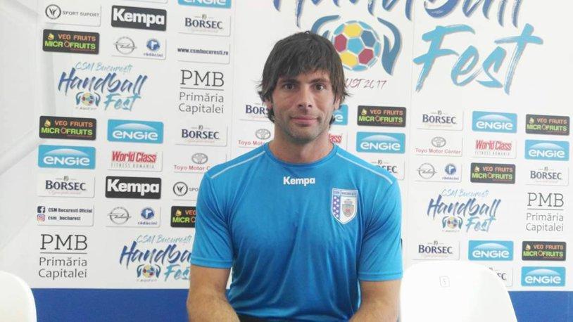 """INTERVIU cu primul campion mondial adus în ultimii ani în handbalul masculin! Antonio Garcia Robledo: """"Sper ca atunci când voi termina aici, nu ştiu când, oamenii să poată să spună că sunt primul jucător spaniol care a câştigat titluri pentru CSM Bucureşti"""""""