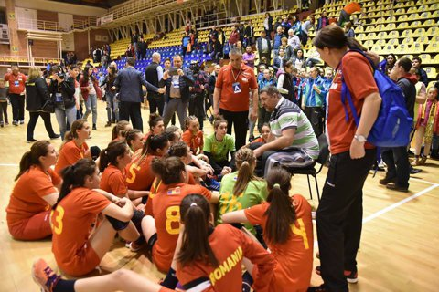 S-au bătut singure! Naţionala de junioare a dat cu piciorul la o medalie la Campionatul European din Slovacia